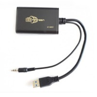 USB 3.0 to HDMI Converter with Audio