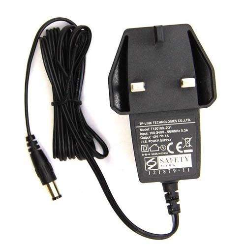 TP-Link Router Power Adapter 12V 1A 5.5x2.5mm