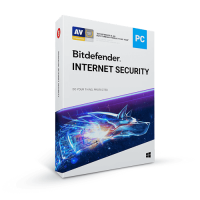 Bitdefender Internet Security 2021 1 User 1 Year Free T-Shirt