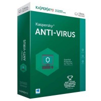 Kaspersky Antivirus 2018 1 PC 1 Year