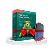 Kaspersky Internet Security 1 User 1 Year  FREE BAG