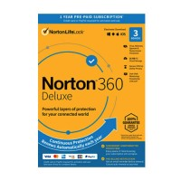 Norton 360 Deluxe 3 devices 1 Year