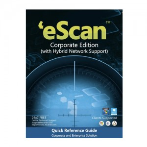 eScan Corporate Edition with Hybrid Network 5 Users
