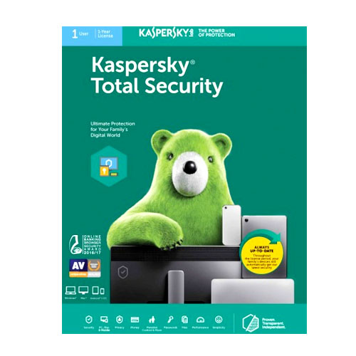 Kaspersky Total Security Multi Device Windows, Mac & Mobile key Card