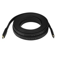 HDMI Cable 10 Meter Flat 1080P 3D HD 4K Support