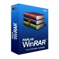 WinRAR Compress, Encrypt, Package and Backup 1 PC Lifetime License