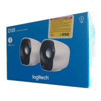 Logitech USB Mini Speaker White