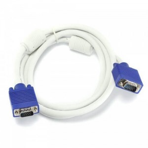 VGA Cable 3 Meter Male to Male White