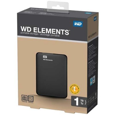 Western digital 1TB Portable hard drive  elements