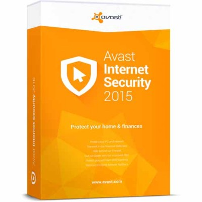 Avast Internet Security 2015 1USER-1YEAR