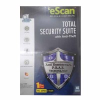 eScan Total Security Suite 1 PC 1 Year