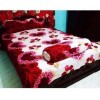 Cotton Double Size Bedsheet With 2 Pcs Pillow Cover