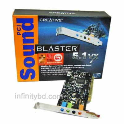 Creative Sound Blaster 5.1 VX PCI Sound Card