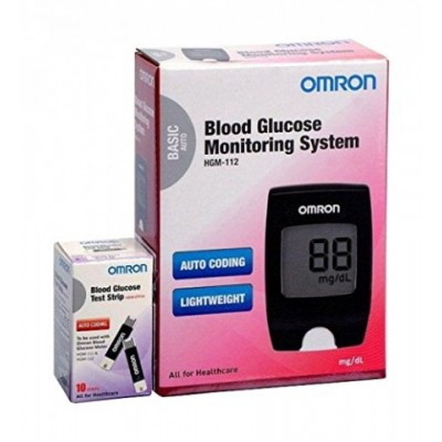 Omron Blood Glucose Monitoring System HGM-112
