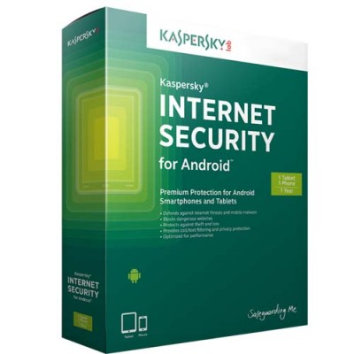 Kaspersky Internet Security For Android mobile, tablets
