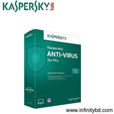 Kaspersky Antivirus 2015 1 PC 1 Year