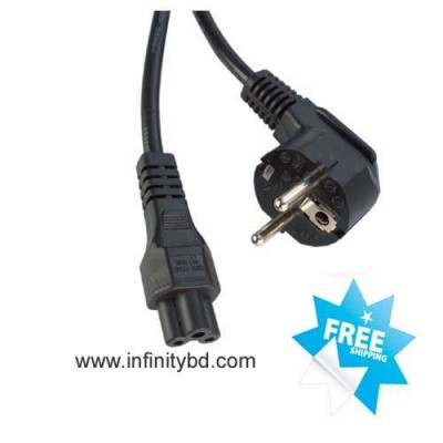 Laptop Adapter Power Cable 2PIN Round 1.5M