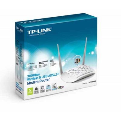 TP-Link 300mbps Wireless N ADSL2+ Modem and Router