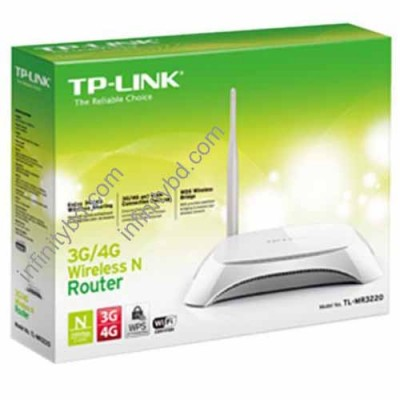 TP-Link MR 3220 3G/4G Wireless N Router