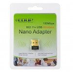 WIRELESS WIFI ADAPTER EDUP FOR LAPTOP , DESKTOP